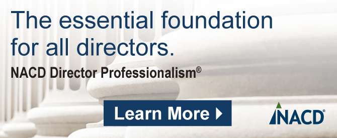 NACD Director Professionalism